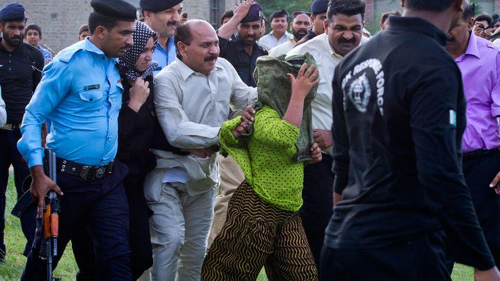 La niña pakistaní acusada de blasfemia sale en libertad bajo fianza