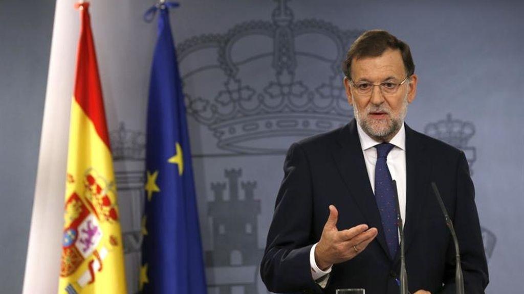 El presidente del Gobierno, Mariano Rajoy, valora los resultados del 27S
