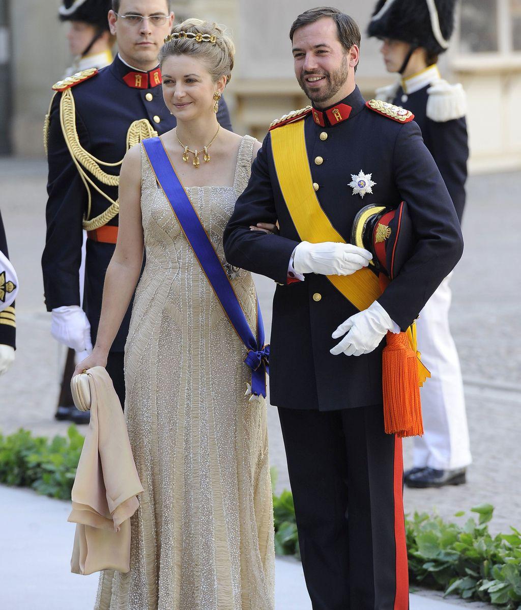 Gran Duquesa Estefanía de Luxembourgo y el Gran Duque Guillermo
