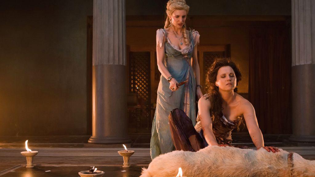 Lucrecia se convierte en una profeta de Capua en la segunda entrega