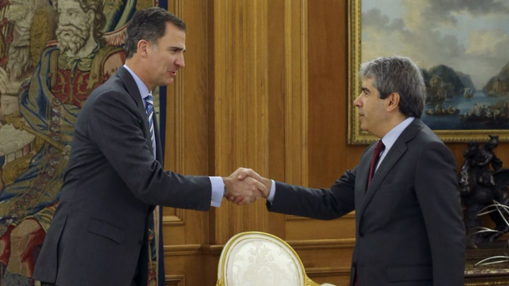 El Rey recibe a Francesc Homs en la Zarzuela