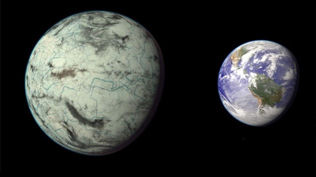 Hallan un planeta muy parecido a la Tierra y con condiciones climáticas similares