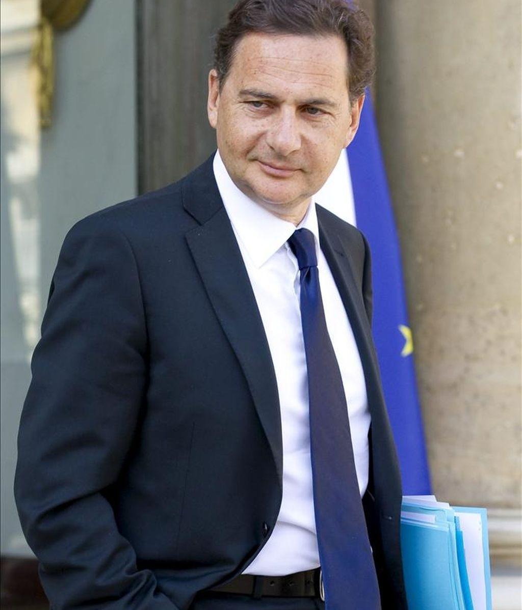 En la imagen, el ministro francés de Industria, Éric Besson. EFE/Archivo