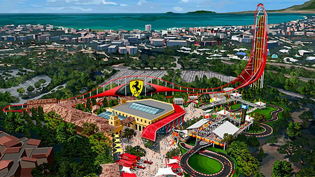 Así será el 'Ferrari Land'