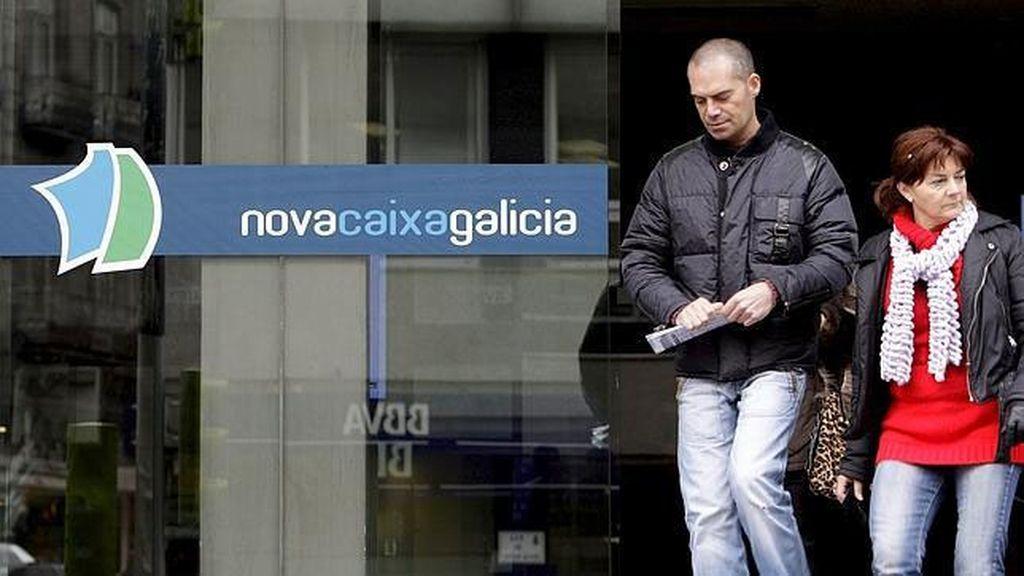 Imagen de archivo de una sucursal de NovaCaixa Galicia.