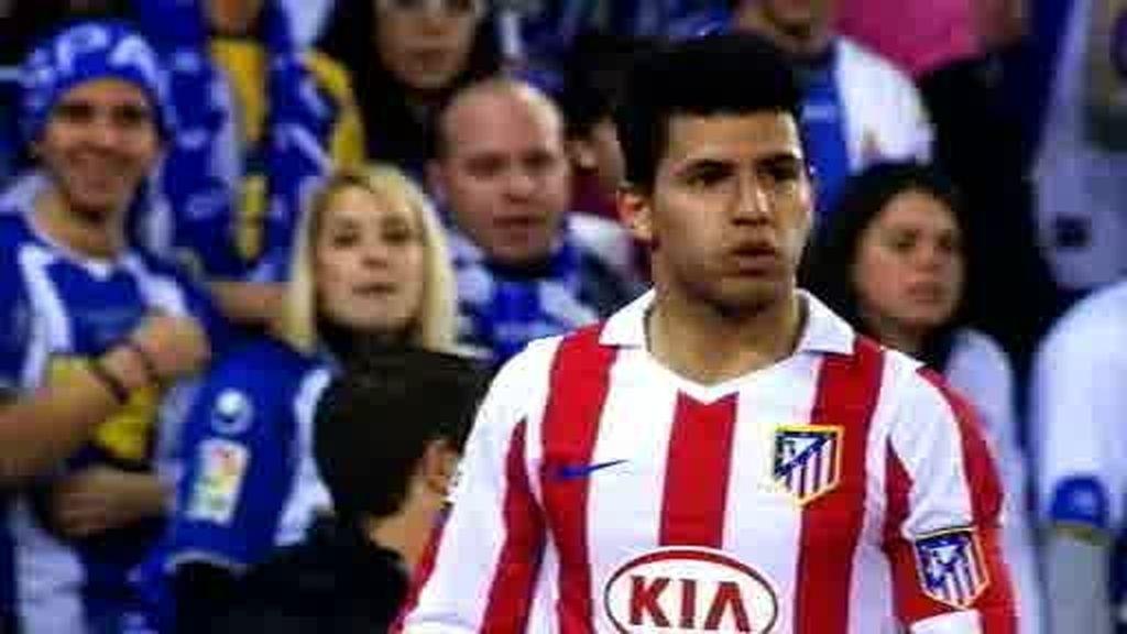 Partidazo de el Kun frente al Espanyol
