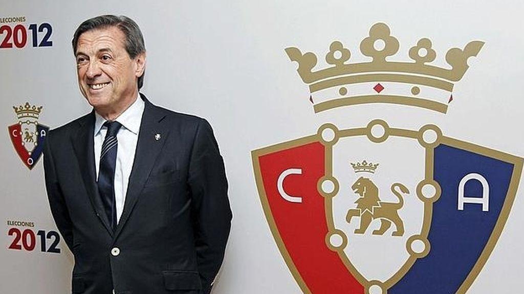 Miguel  Archanco, expresidente del Osasuna