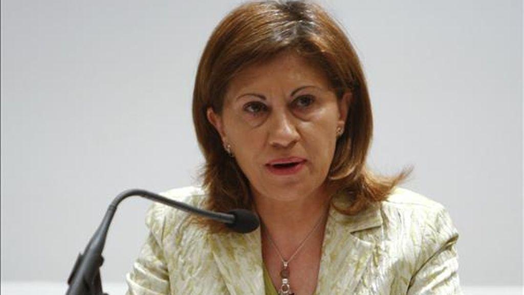 La ministra española del Medio Rural y Marino, Elena Espinosa. EFE/Archivo