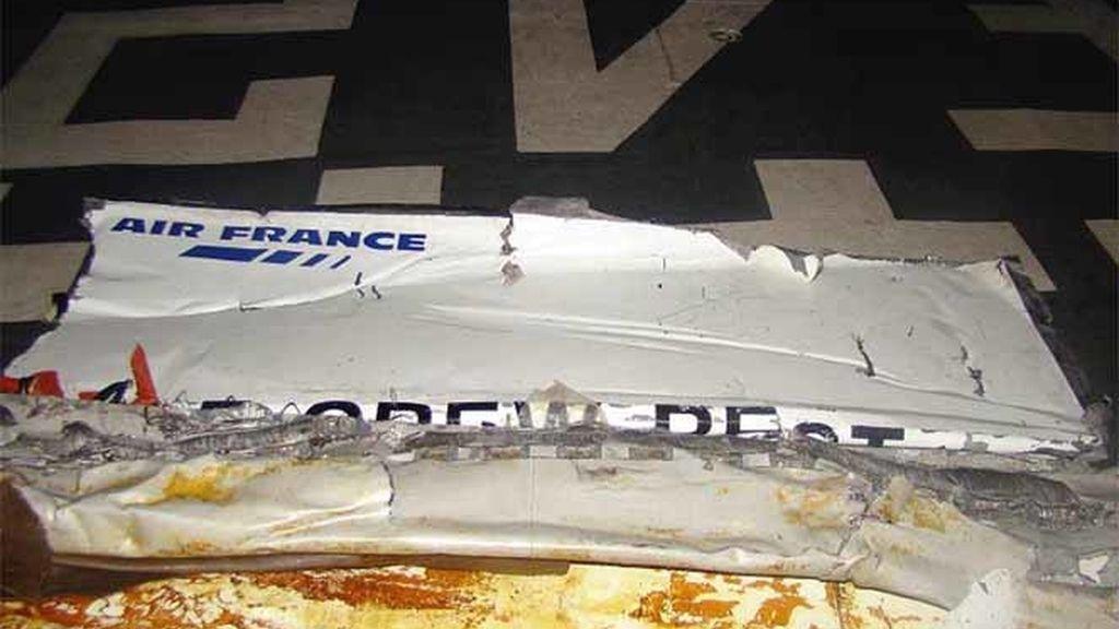 Restos del Air France