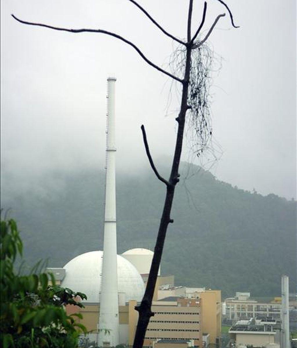 Imagen de la central nuclear de Angra II en Río de Janeiro (Brasil). EFE/Archivo