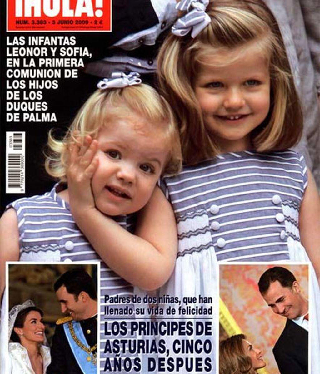 Infantas Leonor y Sofía