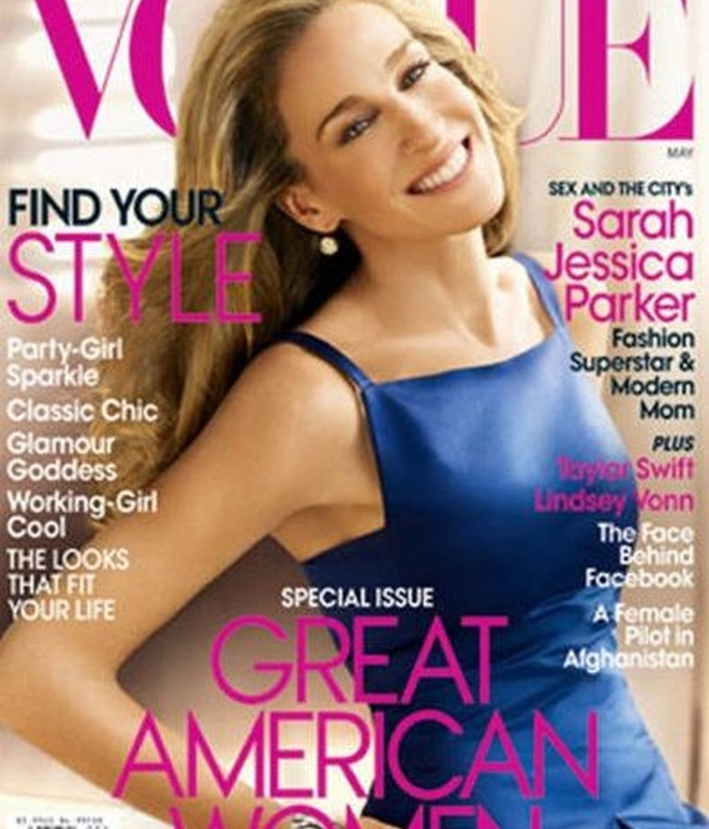 Sarah Jessica Parker, la real y la retocada
