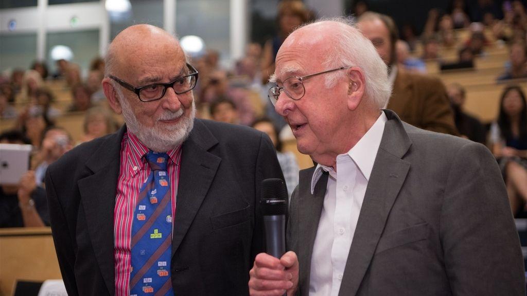 Peter Higgs y François Englert