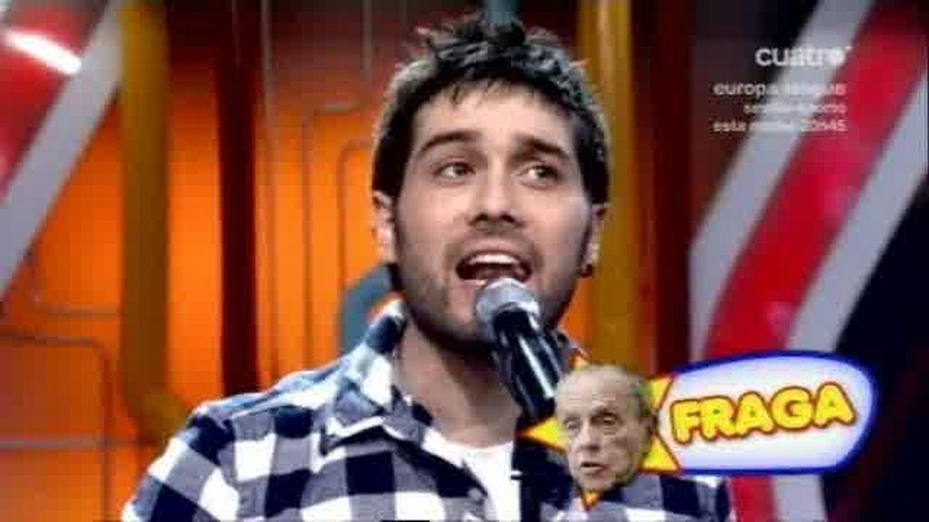Imitaciones musicales con Javier Gurruchaga