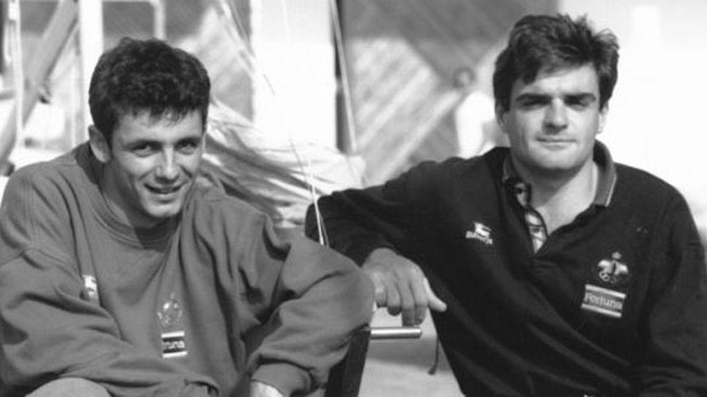 Barcelona 1992: Calafat y Sánchez Luna - Vela