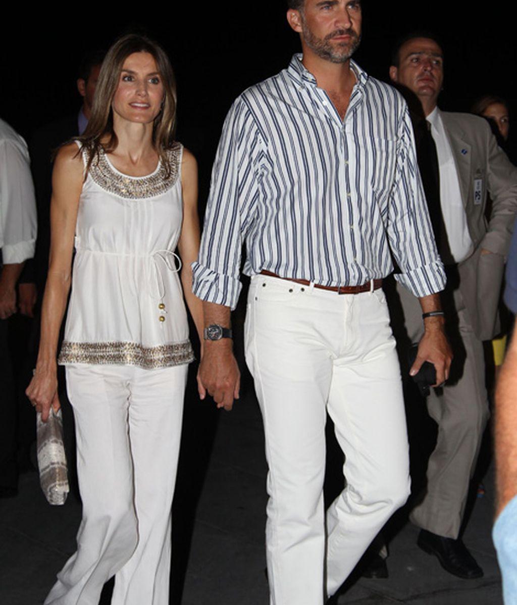 Fiesta previa a la boda de Nicolás de Grecia y Tatiana Blatnik (agosto de 2010)