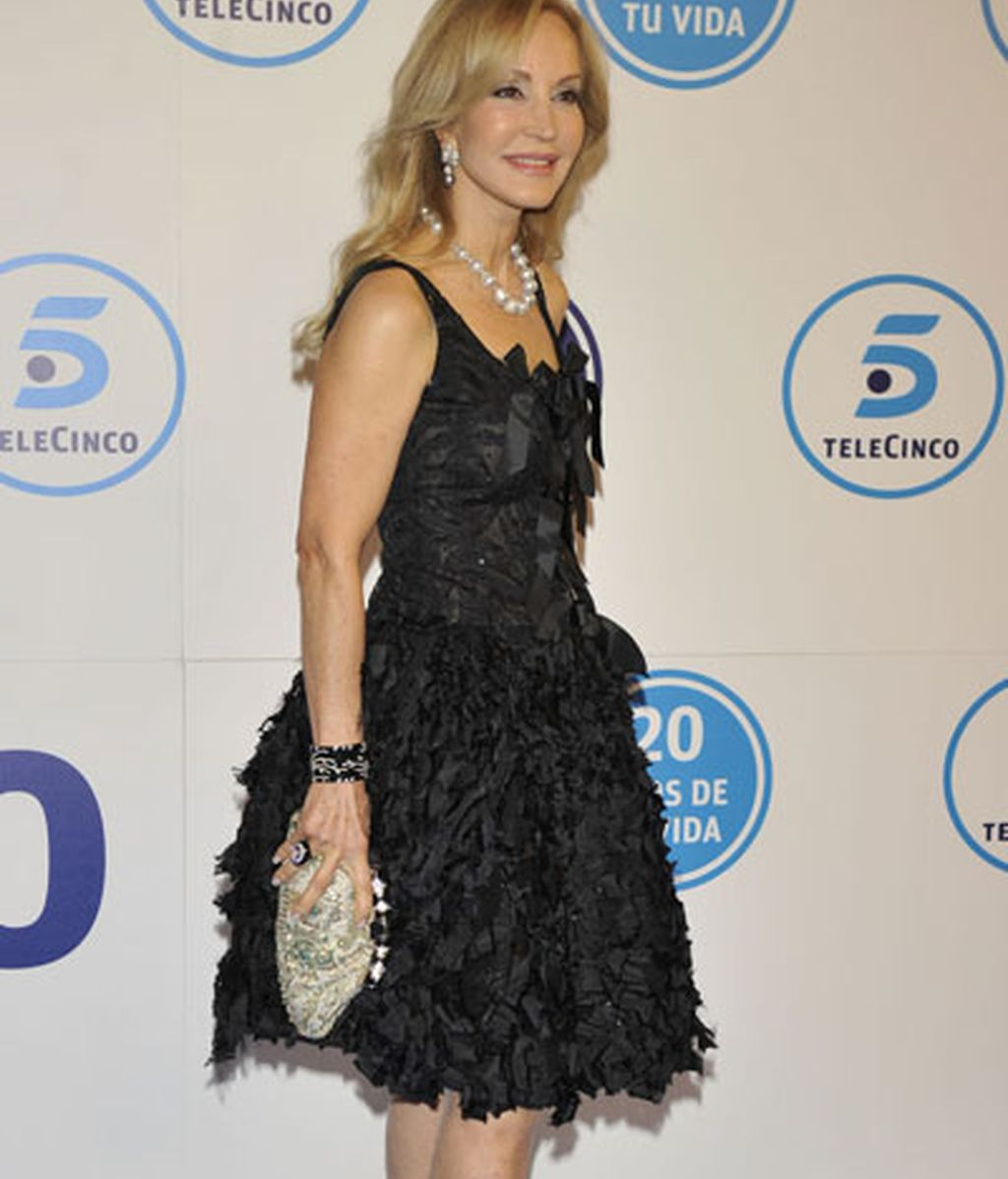 El Photocall de la Gala de 20 aniversario de Telecinco