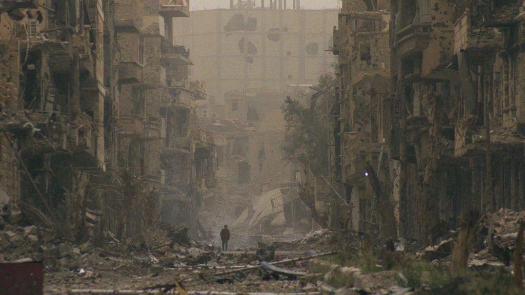 La guerra destruye ciudades enteras en Siria