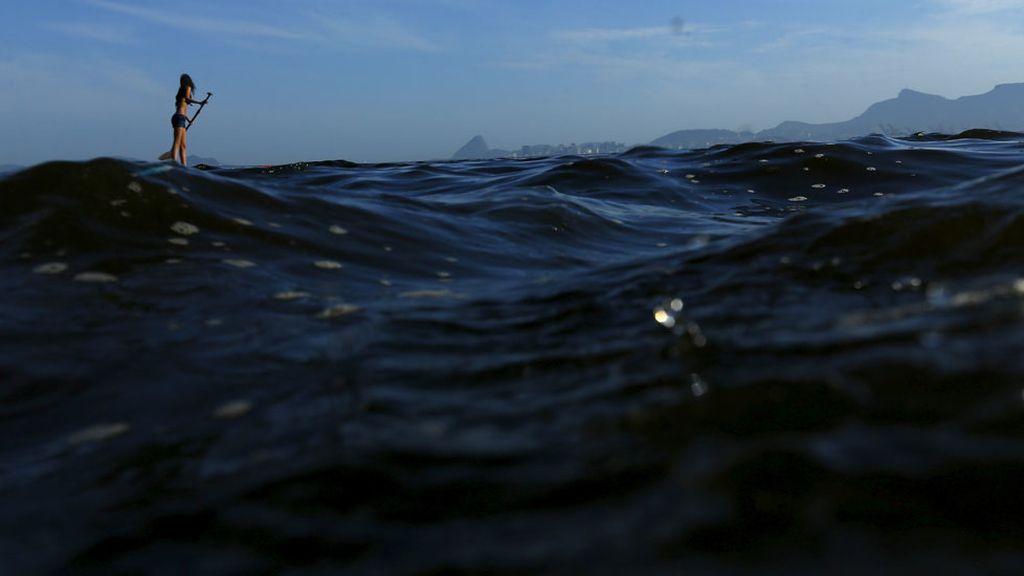La bahía de Guanabara se prepara para recibir a los marineros Olímpicos (26/04/2016)
