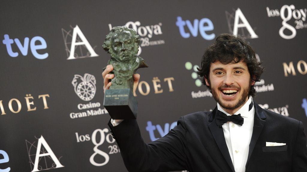 Javier Pereira, actor revelación por 'Stockholm'