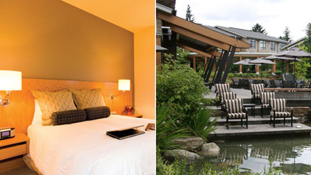 1. Cedarbrook Lodge (Seattle, EEUU)
