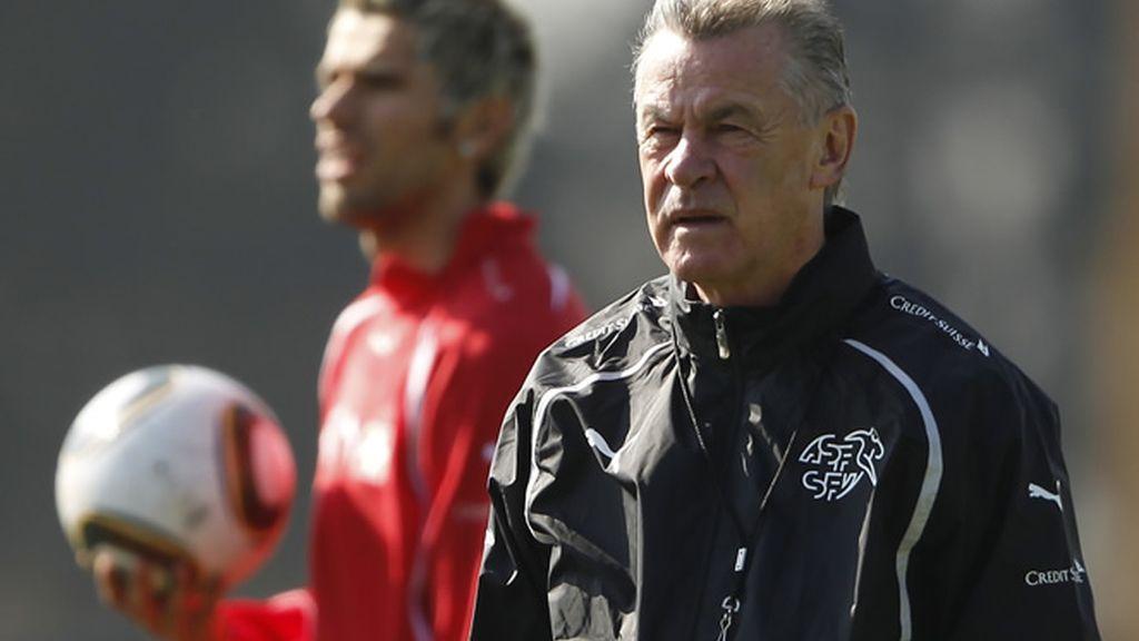 Hitzfeld, técnico de Suiza