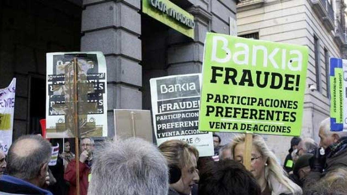 Condenan a Bankia a devolver un millón de euros por las preferentes