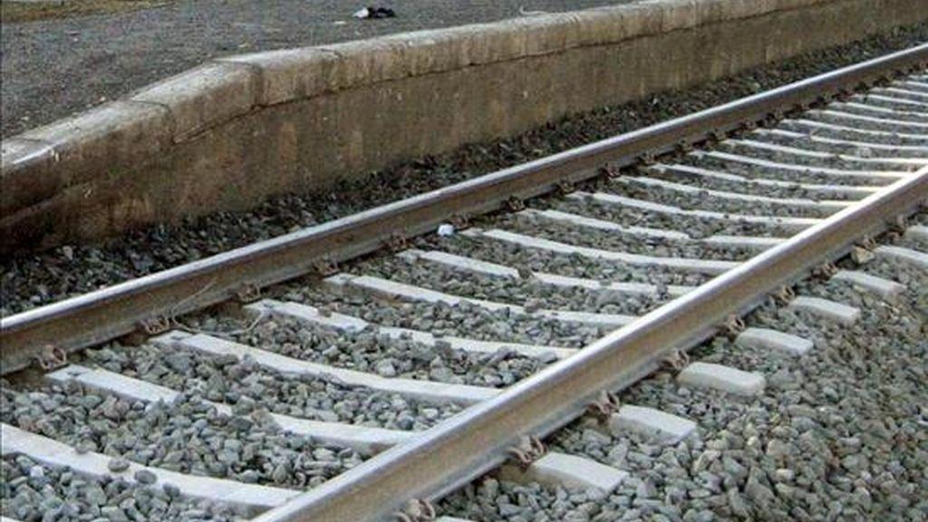 Muere arrollado por un tren un conductor que se saltó un paso a nivel con barreras. EFE/Archivo