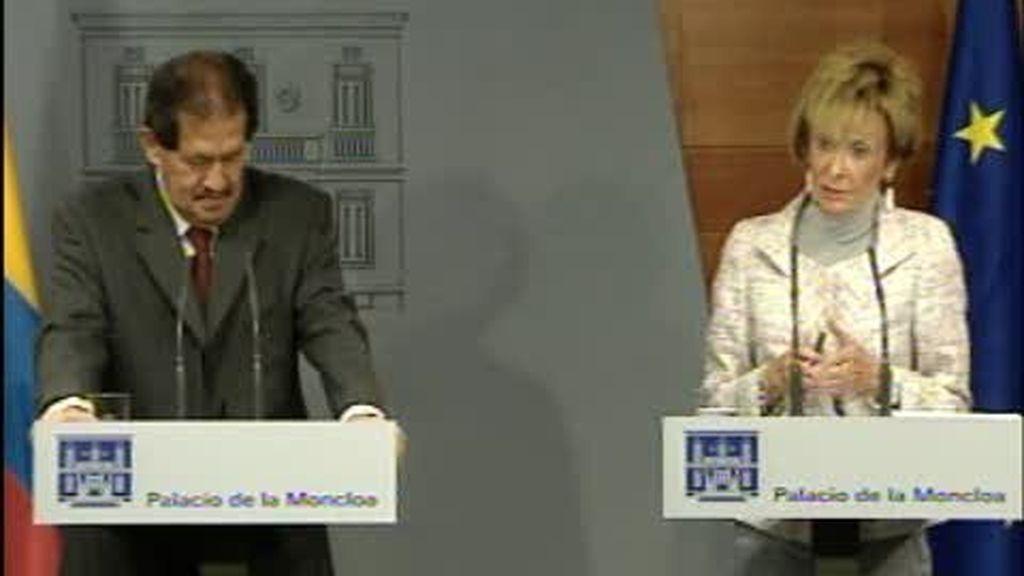 España y Colombia colaborarán para erradicar el terrorismo