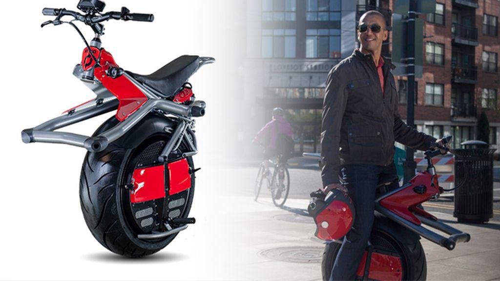 Muévete en Ryno: el scooter de 4000€ con una sola rueda