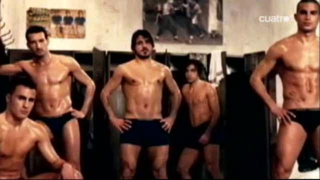 Los futbolistas al desnudo