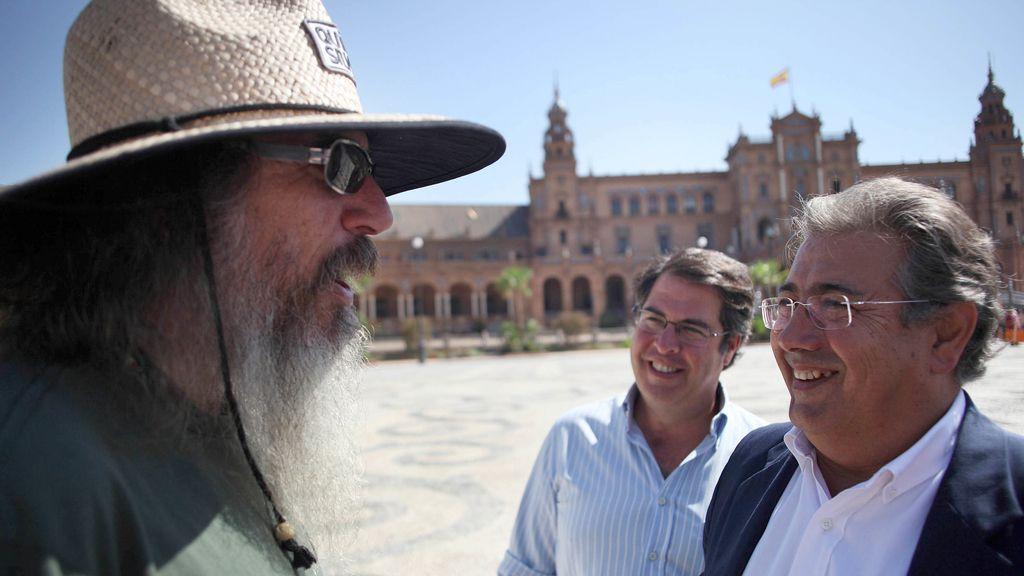 Sacha Baron Cohen, en Sevilla