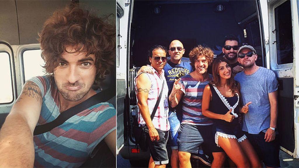 Los chicos de El Viaje De Elliot empredieron la marcha a Murcia en furgoneta