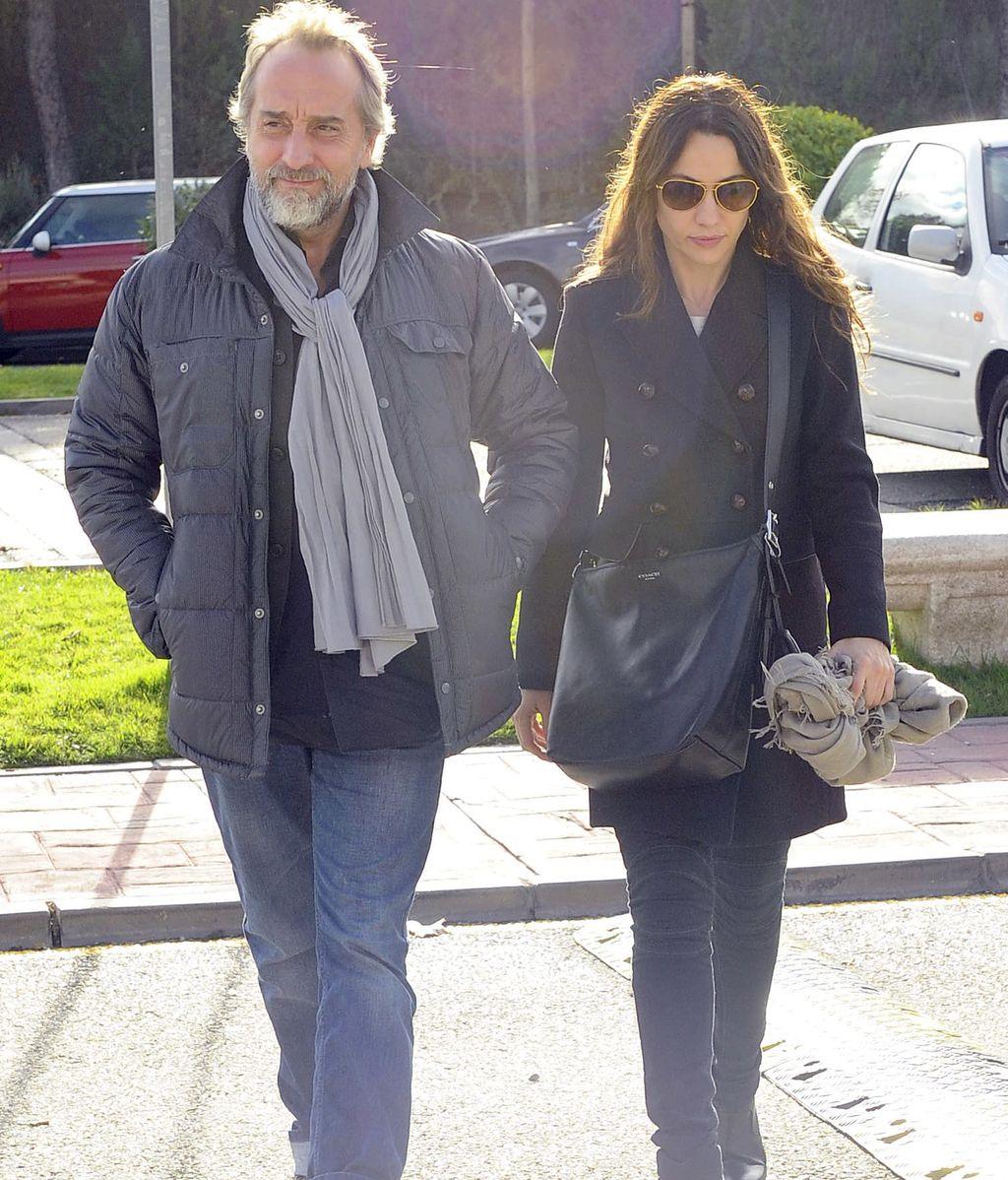 Gonzalo de Castro y Natalia Verbeke acuden a la capilla ardiente de Miliki