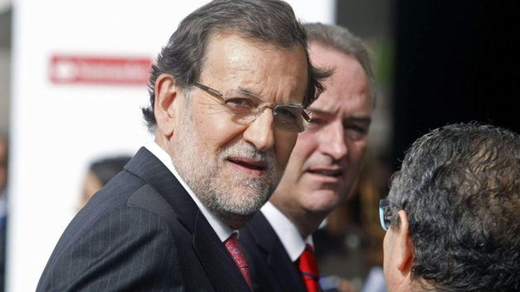 Mariano Rajoy asiste al Congreso de Empresa familiar