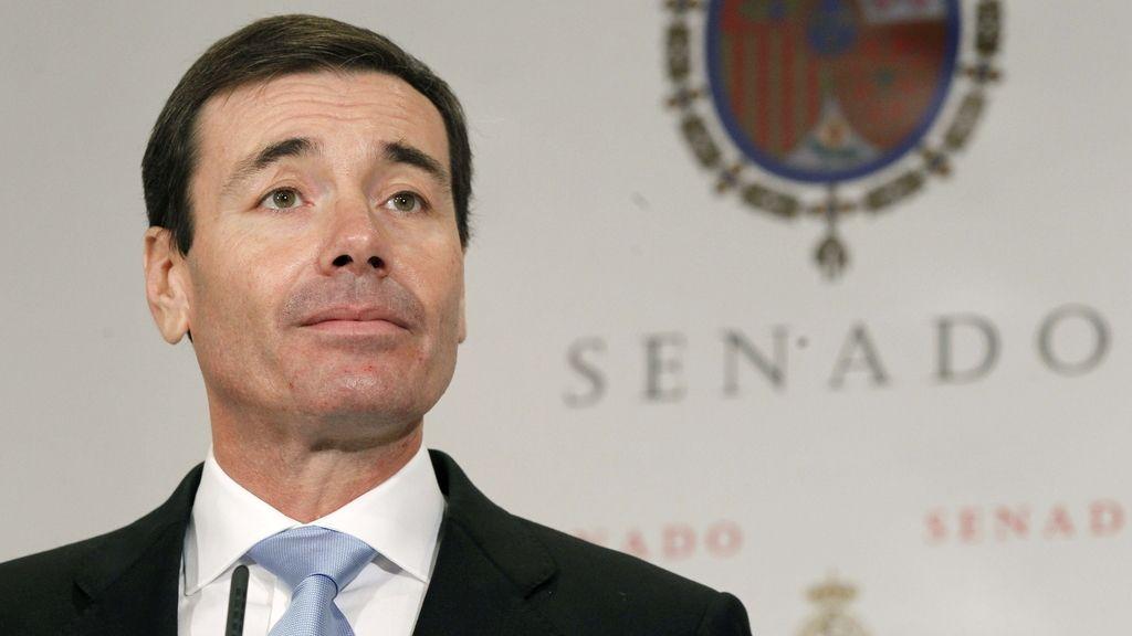 Tomás Goméz renuncia a su escaño de senador