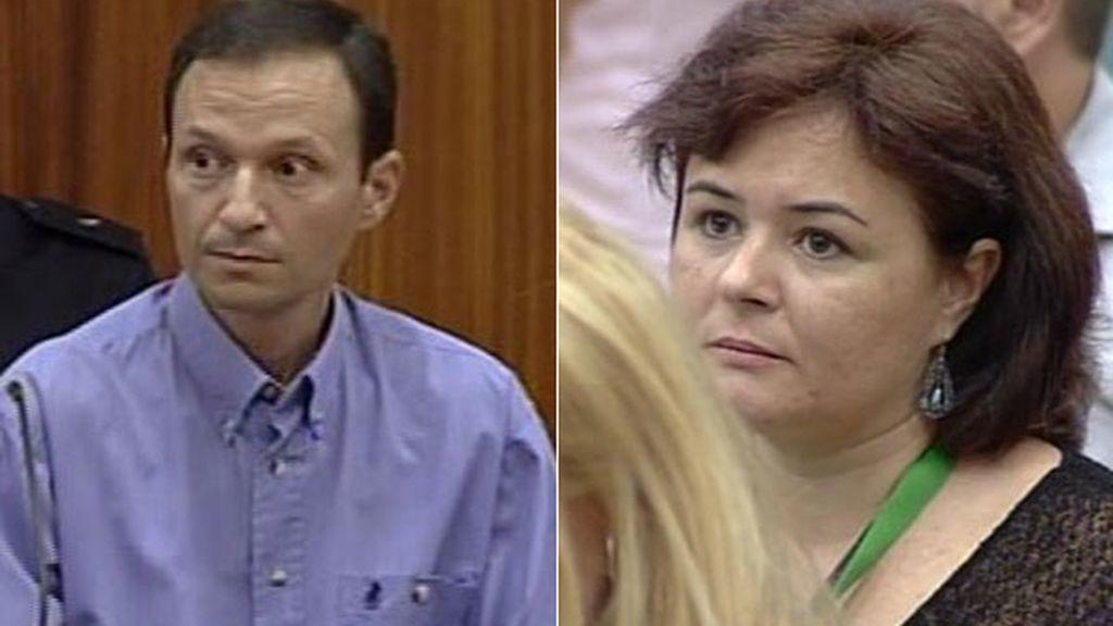 José Bretón y Ruth Ortiz escuchan atentamente la lecura del veredicto