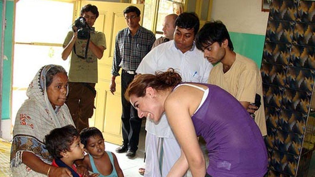 Indhira, de misión solidaria en la India con la ONG 'Global Humanitaria'