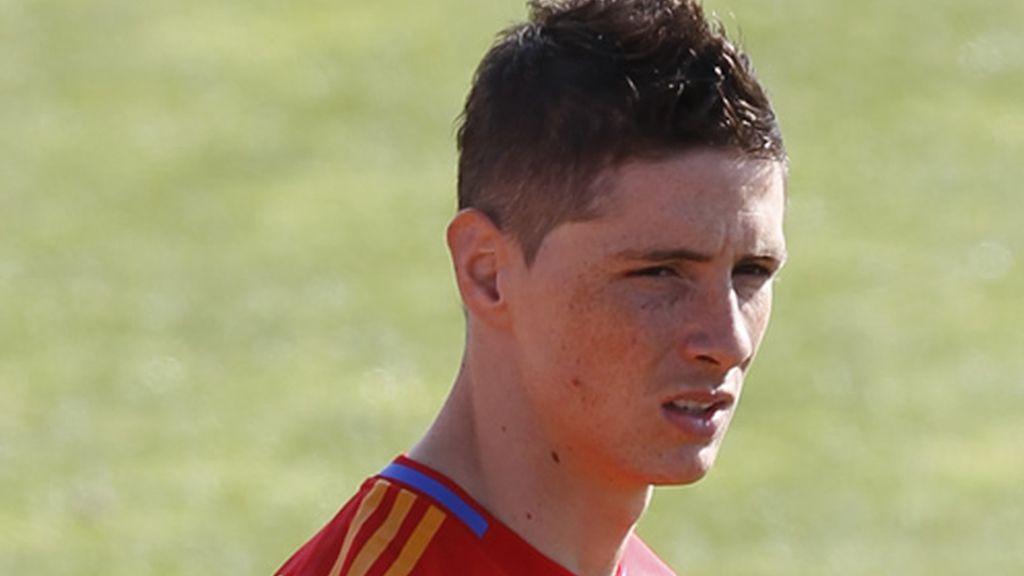 Fernando Torres, en la foto oficial