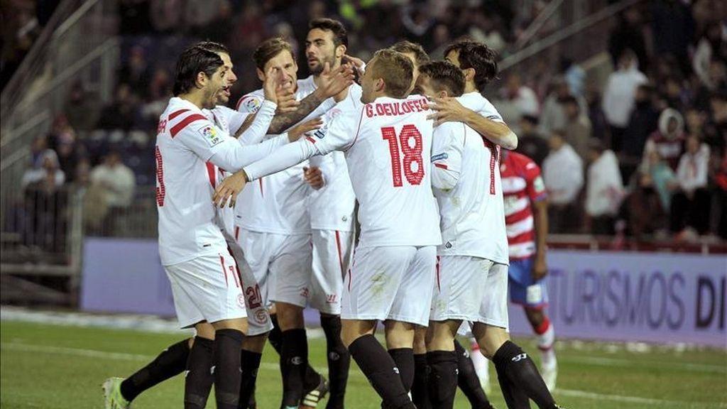 El Sevilla no saca tajada de Granada