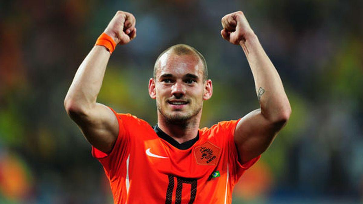 Sneijder es una de las grandes estrellas de este Mundial