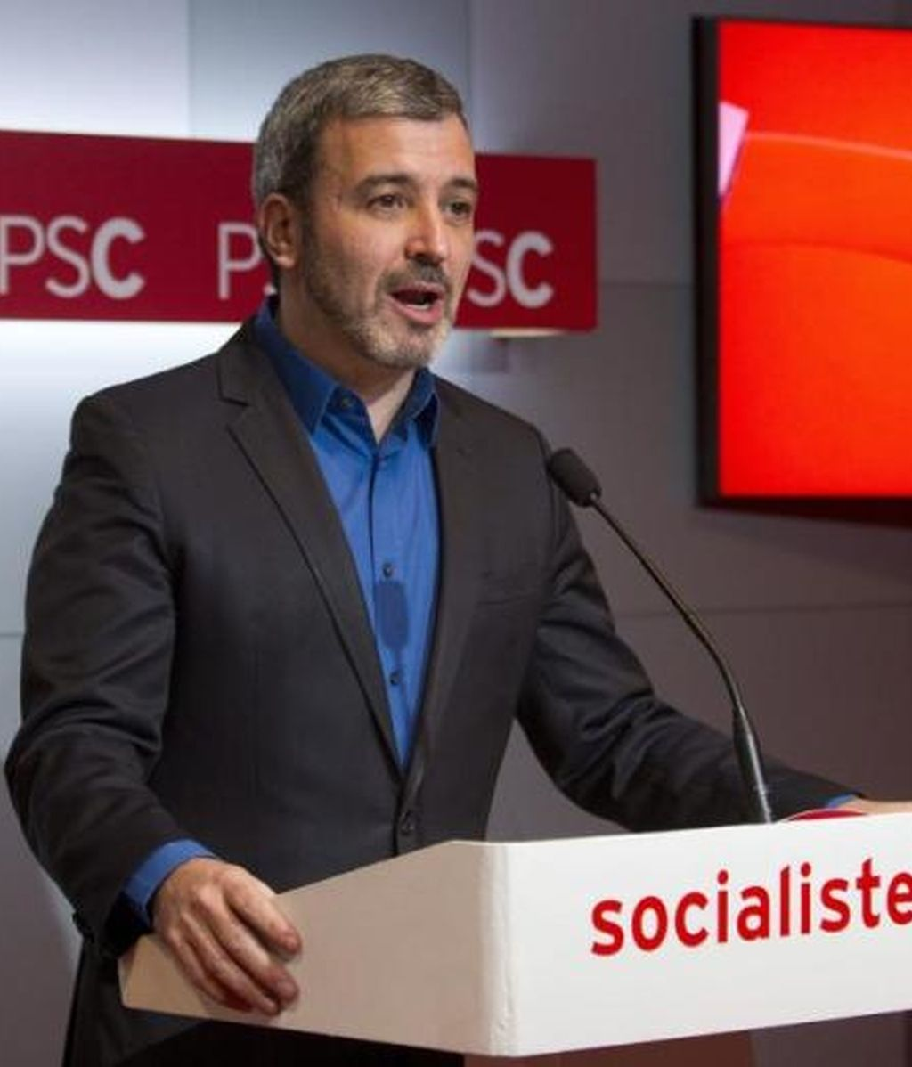 Jaume Collboni, portavoz del PSC