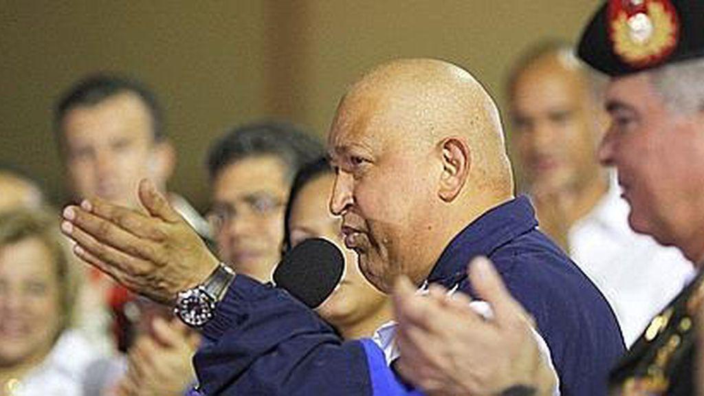 Hugo Chávez, en Cuba donde está siendo tratado del cáncer que padece.