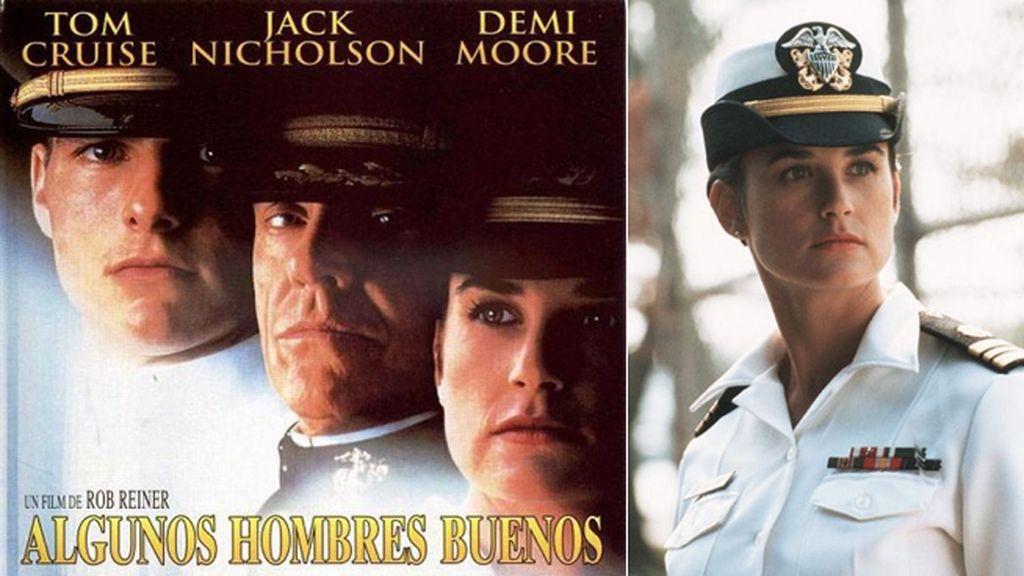 Demi Moore, impoluta abogada y compañera de Cruise en 'Algunos hombres buenos'