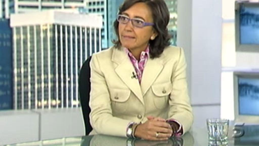 La ministra de Medio Ambiente, Medio Rural y Marino, Rosa Aguilar