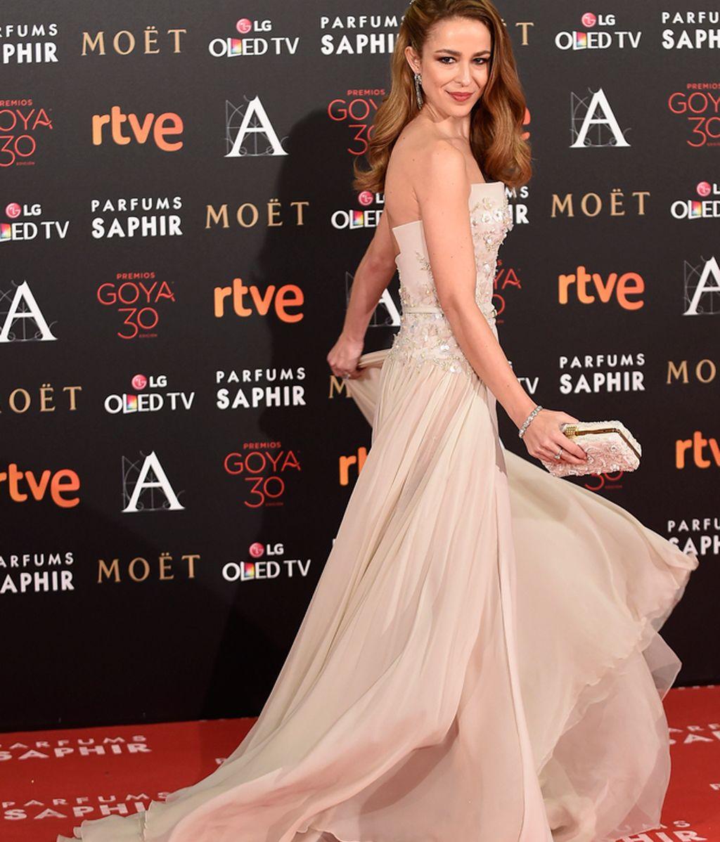 Silvia Abascal con vestido de Elie Saab