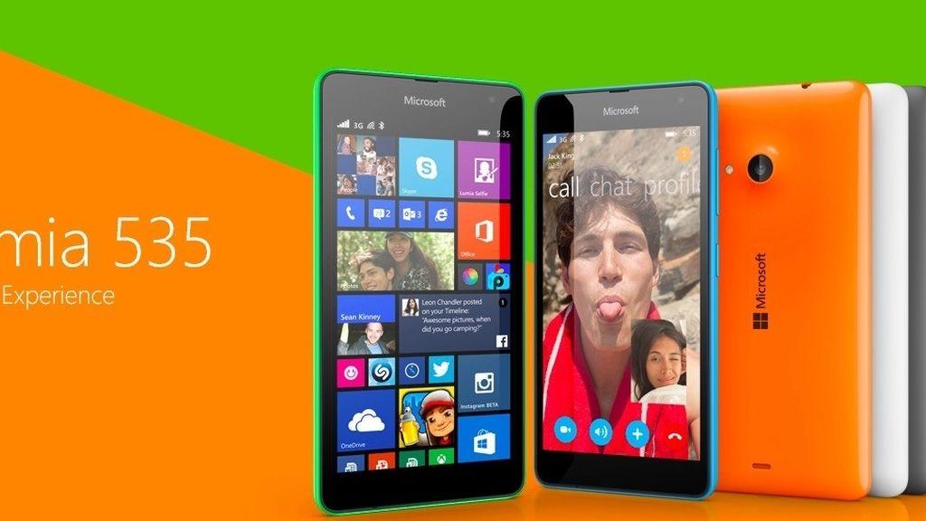 Windows Phone,Nokia,Microsoft Lumia 535,Microsoft