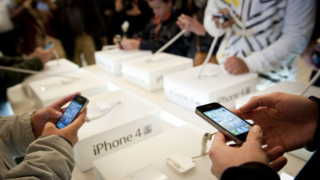 El iPhone 4S de Apple ya está disponible en España