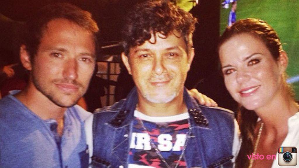 Los planes junto a su chico: disfrutar del concierto de Alejandro Sanz