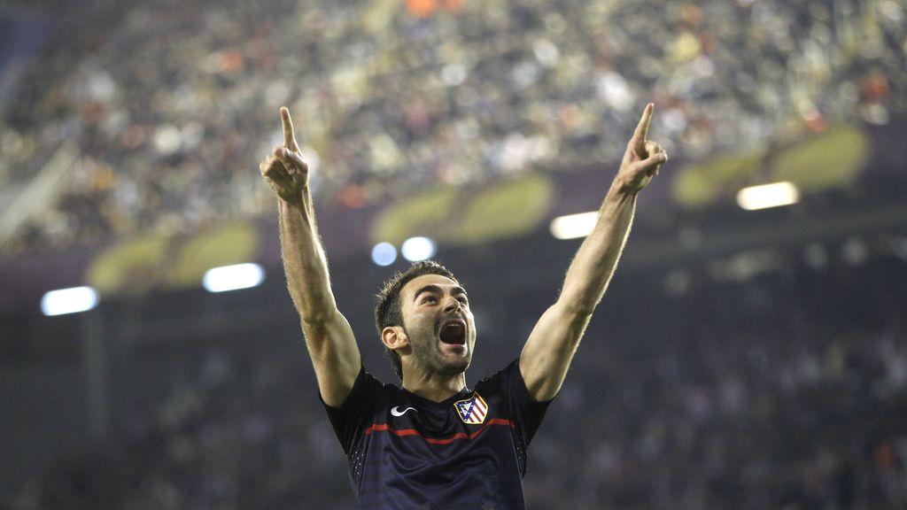 Adrián adelanta al Atlético de Madrid